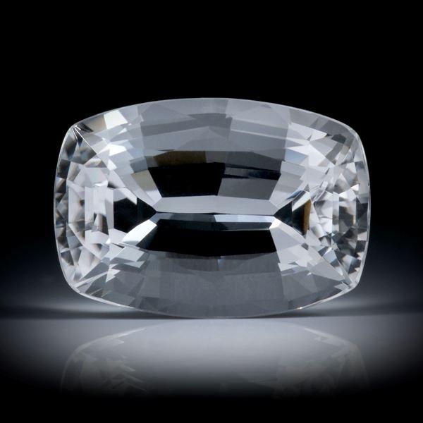 schweizer Bergkristall 19.01ct. Kissenschliff ca.20.5x14x10.5mm