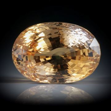 Saphir Sri Lanka 10.62ct. oval facettiert ca.14x9.5x8mm