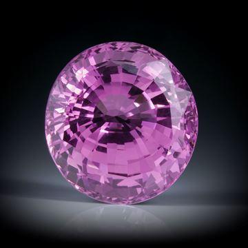 Pink Saphir Sri Lanka 8.2ct. unerhitzt ca.11.3x10.5x7.5mm