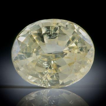 Saphir Ceylon erhitzt 4.21ct. oval facettiert ca.10.5x8.5x5.5mm