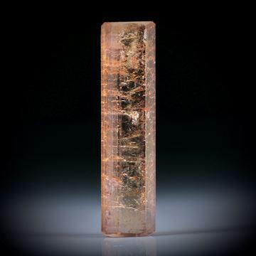 Turmalinkristall 21.06ct. Tafelflächen beideitig angeschliffen, ca.34x8.5x6.5mm