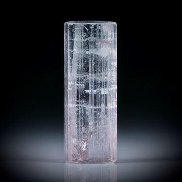 Turmalinkristall 22.56ct. Tafelflächen beideitig angeschliffen, ca.26x10x8mm