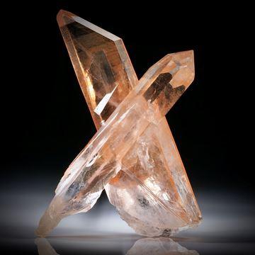 Quarzkristalle, kreuzförmig verwachsen, ca.79x54x22mm