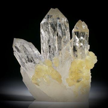Quarzkristall Stufe ca.82x75x40mm