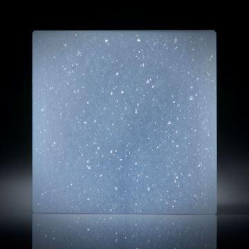 Chalcedon mit kristalliner Oberfläche, Quadrat ca.29x29x9mm