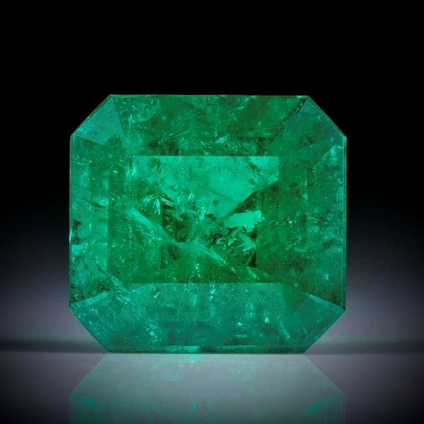 Smaragd 2.15ct. Smaragdschliff ca.9x8x5mm