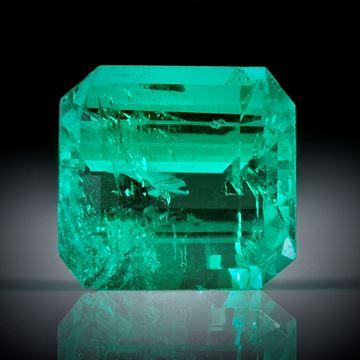 Smaragd 2.26ct. Smaragdschliff ca.8x7.5x5mm