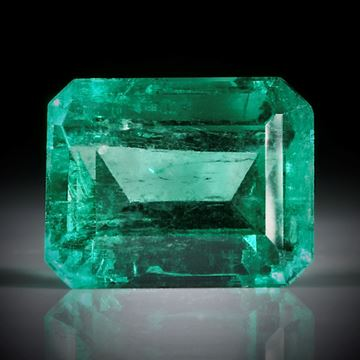 Smaragd 1.27ct. Smaragdschliff ca.7x5.5x4mm