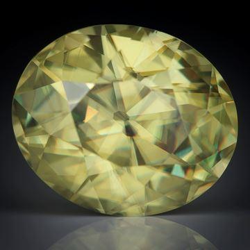Titanit Simbabwe 3.75ct. oval facettiert ca.10.5x8.5x6mm