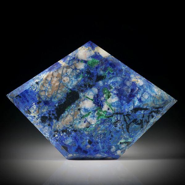 Azurit Malachit Freiform ca.48x33x4.5mm